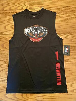 $12.50 • Buy New Orleans Pelicans Nba Unk Zion Williamson #1 Mens Sleevless Jersey Small