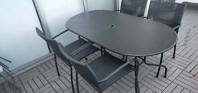 AU50 • Buy 5-piece Outdoor Setting With Protective Cover - Canberra