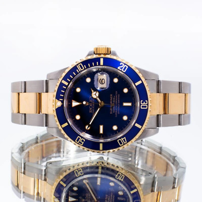 $ CDN15211.15 • Buy Rolex Submariner Date 16613 Box Papers 1995