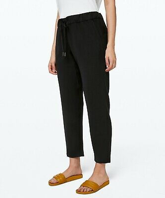 $ CDN99.92 • Buy Lululemon Women's On The Fly 7/8 Pant Woven Black NWT