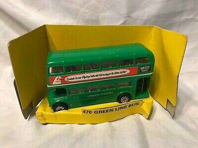 $ CDN8.79 • Buy Corgi  ~ 470 Green Line Bus ~ Double Decker ~ London Country ~ From 1981
