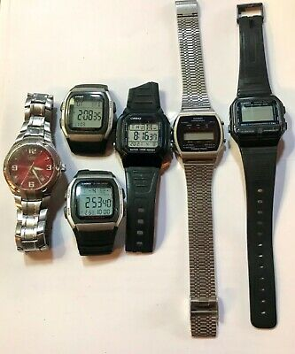 $ CDN8.77 • Buy Casio Multifunction Vintage Watches For Restoration Or Parts. Some Running