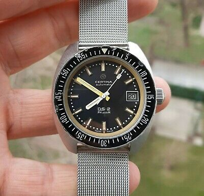 $ CDN640.23 • Buy Vintage Certina DS-2 PH 200 M Steel Diver Automatic Watch 1968 Cal 25-651 Swiss