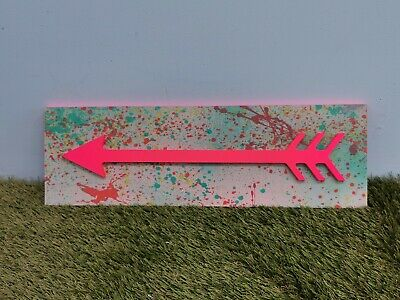 £22 • Buy Pink Arrow Directional Sign Party Wedding