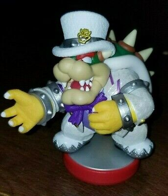 AU47.65 • Buy Nintendo Amiibo Bowser Wedding Outfit Super Mario Odyssey Figure Switch Wii 3DS