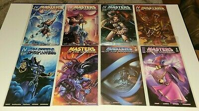 $102 • Buy Masters Of The Universe 1 2 3 4 5 6 7 8 Complete Set MVCreations/Image Low Print