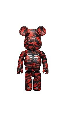 $700 • Buy Bearbrick MEDICOM FAZE CLAN 1000% *IN HAND*