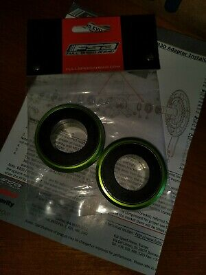 Cannondale Bb30 PF30 To 24mm Axel Spacers FSA Green Bottom Bracket Spacers Evo • 15.80£