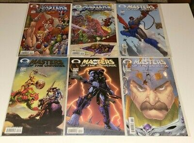 $51 • Buy Masters Of The Universe Image Comics 2003 Vol 2 #1 2 3 4 (Gold Variant) 5 6 VF+