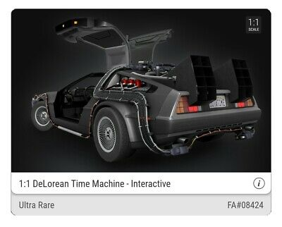 $649 • Buy VeVe NFT - 🔥 DeLorean - FULL SET 🔥 Back To The Future - SOLD OUT