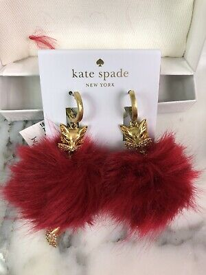 $ CDN72.43 • Buy NWT Kate Spade So Foxy Fox Earrings
