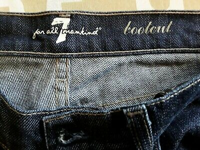 AU32.50 • Buy Seven 7 For All Mankind Bootcut Denim Jeans Ladies Non Stretch Sz 27 Made In USA