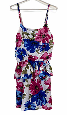AU29.95 • Buy Finders Keepers Womens Floral Sleeveless Dress With Elastic Waist Size 10
