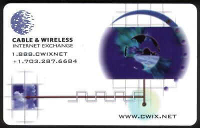 $7.79 • Buy 5m Cable & Wireless Internet Exchange Phone Card