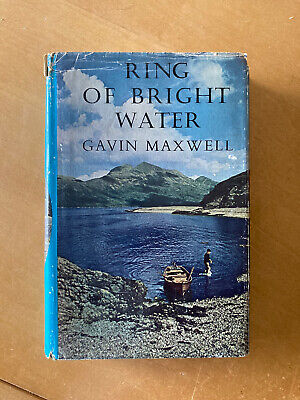 Ring Of Bright Water, Gavin Maxwell, Good Condition Book 1960 2nd Impression • 7.50£