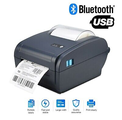 View Details Shipping Label Barcode Printer 4x6 High Speed Thermal Direct  Printer Bluetooth  • 127.99$