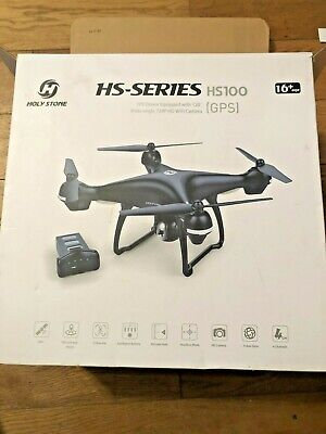 Holy Stone HS100 FPV Drone With 120 Wide Angle Camera, Follow Me, GPS • 1.60£