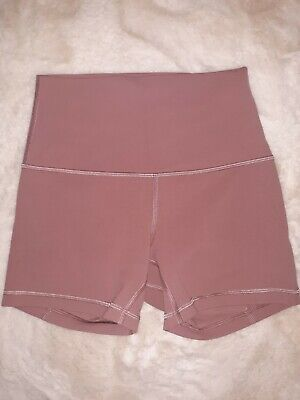 $ CDN75.32 • Buy Lululemon Align Shorts 4  Red Dust Size 4 New Condition