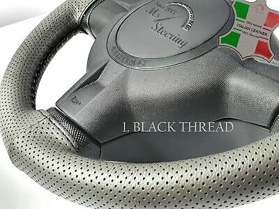 $42.40 • Buy For Mazda B Series Truck 98-04 Grey Perf Leather Steering Wheel Cover | Diff Sti