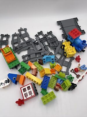 AU32.76 • Buy LEGO DUPLO Toddler Building Set Push Train #10810 Track Incomplete