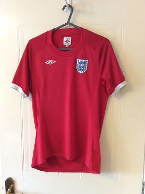 £19.95 • Buy England 2010 South Africa World Cup Away Football Shirt - Ladies Size 10