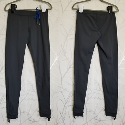 $ CDN55 • Buy Lululemon Gray Luxtreme Low Rise Stirrup Leggings W/ Cinchable Legs | Women's 8