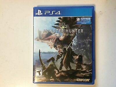AU10.50 • Buy Monster Hunter World PS4 Video Game