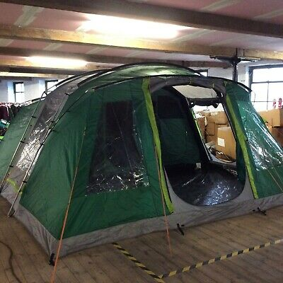 Coleman Oak Canyon 6 Person Man Family Green Tent 2 Bedrooms Rrp £449 • 0.99£