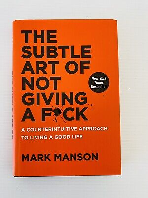 AU19.95 • Buy The Subtle Art Of Not Giving A F*ck By Mark Manson NEW Free Post Self Help Book