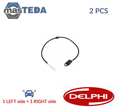 AU93.57 • Buy 2x DELPHI FRONT ABS WHEEL SPEED SENSOR PAIR SS20219 G NEW OE REPLACEMENT