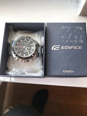 View Details MENS CASIO EDIFICE EFS-S500DB-1AVUEF Solar Powered Chronograph Gents Watch • 60.00£