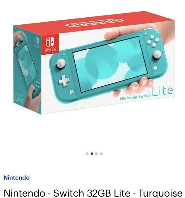 AU235.94 • Buy New Nintendo Switch Lite 32 GB Gaming Console - Turquoise With Mario 3D