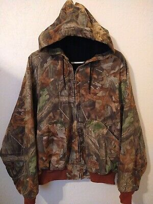 £21.26 • Buy Walls Outdoors Advantage Timber Camo Print Mens Hunting Hood Jacket Size XL