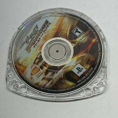 £15.84 • Buy The Fast And The Furious  PSP Game Only Tested