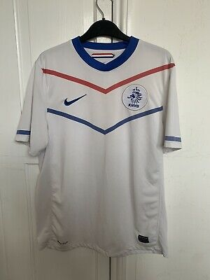 Holland 2010-12 Away Vintage Football Shirt - Medium - Very Good Condition • 17.99£