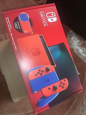 AU584.94 • Buy Brand New Nintendo Switch Mario Red & Blue Limited Edition Uk Model