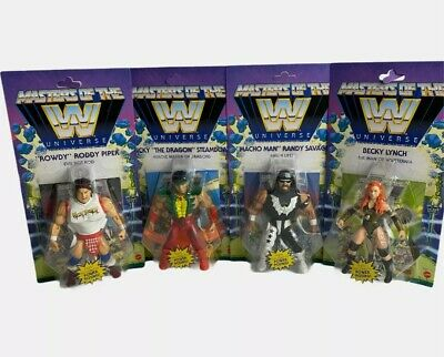 $99 • Buy WWE WAVE 5 MASTERS OF THE UNIVERSE FIGURES COMPLETE SET OF 4 NEW In Hand