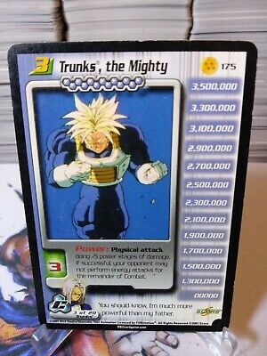 AU25.84 • Buy Dbz Ccg Dragon Ball Z Trunks, The Mighty Lv3 #175 Cell Saga Starter Rare Score