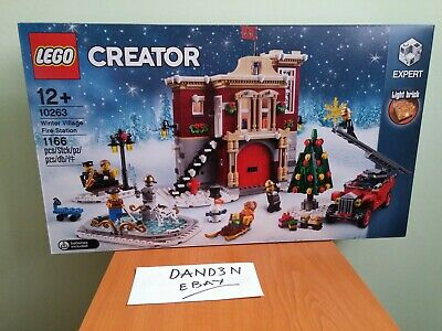 Lego Creator 10263 Winter Village Fire Station (New & Sealed) • 68.56£