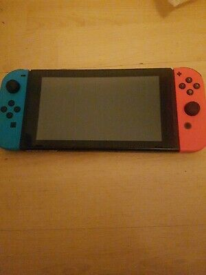 AU334.75 • Buy Nintendo Switch 32gb Console Tablet And Joycons Improved Batt V2 Excellent Order
