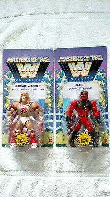 $79.99 • Buy Ultimate Warrior + Kane Wave 6 Masters Of The WWE Universe MOTU Wrestling