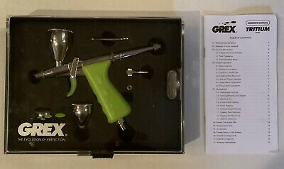$72 • Buy Grex Genesis.XGi3 Double Action Gravity Feed Airbrush 0.3mm—-USED