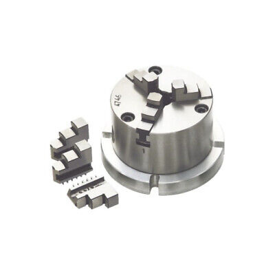 AU157.29 • Buy New 3Jaw Chuck 100mm Self Centring With Back Plate Suitable For 6  Rotary Table