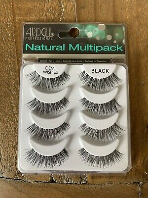 Ardell Demi Wispies False Eyelashes Multipack - 4 Pairs Of Natural Lashes Pack • 7.28£