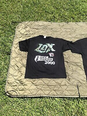 £254.52 • Buy Vintage LOX DMX Ruff Ryders Rap Tee 2X DRY ROT SOLD AS IS NO REFUNDS