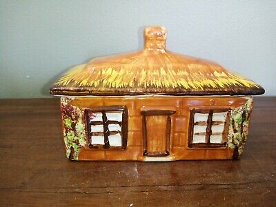 £8.50 • Buy Vintage, Price Bros, Kensington, Cottage Ware, Butter Or Cheese Dish And Cover