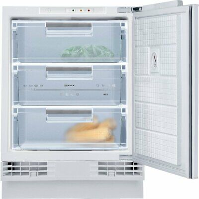 Neff G4344XFF0G Fully Integrated Under Counter Built-in Freezer 60cm A+ White • 349.99£
