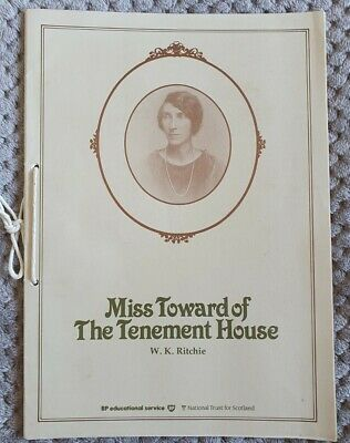 £6 • Buy Miss Toward Of The Tenement House By W K Ritchie (loose -leaf Folder 1984)