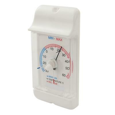 £4.79 • Buy Thermometer Dial Min / Max Garden DIY 30 - + 60 Degrees Outdoor Greenhouse NEW