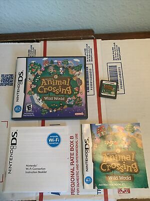 AU26.20 • Buy Animal Crossing Wild World Nintendo DS - Game, Case And Instructions